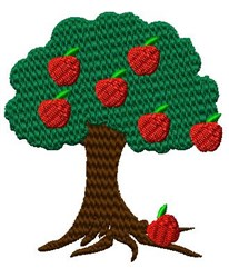 Apple Tree embroidery design