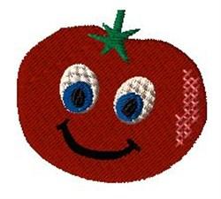 Animated Tomato embroidery design