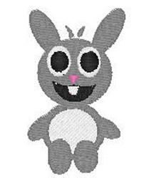 Alien Bunny embroidery design