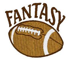 Fantasy Football embroidery design