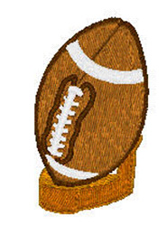 Football On Tee embroidery design