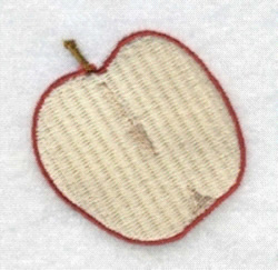 Open Apple embroidery design