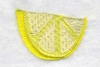 Lemon Slice embroidery design