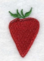 Strawberry embroidery design