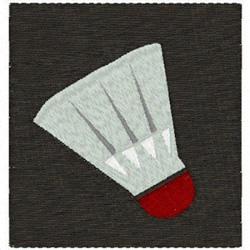 Badminton Birdie embroidery design