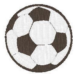 Soccerball embroidery design