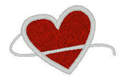 Classic Heart embroidery design