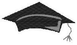 Graduation Cap 2 embroidery design