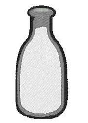 Milk Bottle embroidery design