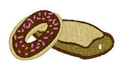 Donuts embroidery design