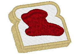 Toast With Jelly embroidery design