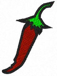 Chili Pepper embroidery design
