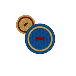 Buttons embroidery design
