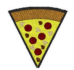 Pizza Slice embroidery design