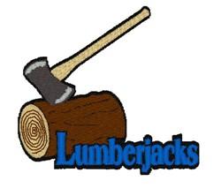 Lumberjacks Mascot embroidery design
