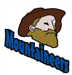 Mountaineers Mascot embroidery design
