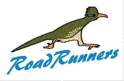 Road Runners Mascot embroidery design