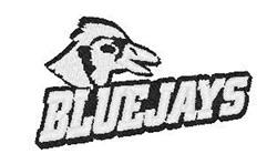 Blue Jays Mascot embroidery design