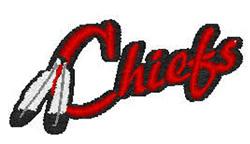 Chiefs Mascot embroidery design
