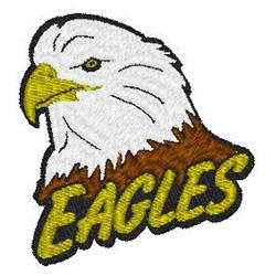 Eagles Mascot embroidery design