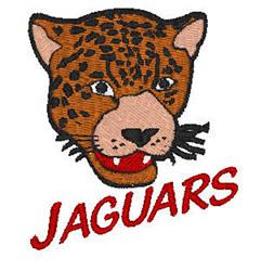 Jaguars Mascot embroidery design