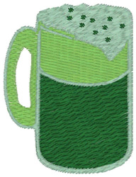St Pattys Day Beer embroidery design