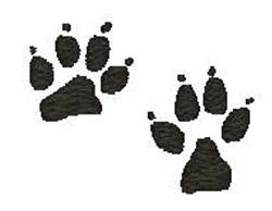 Dog Prints embroidery design