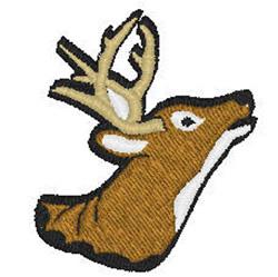 Bucks Head embroidery design