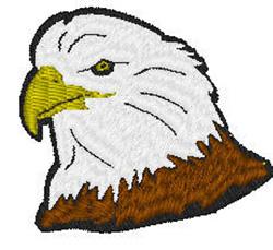 Eagles Head embroidery design