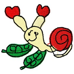lovesnail embroidery design