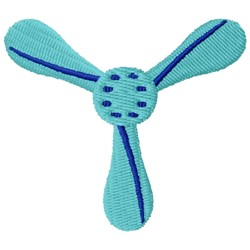 Propeller embroidery design