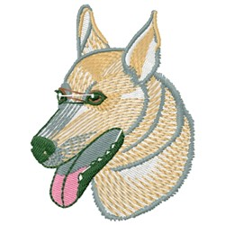 Scout The Dog embroidery design