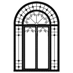 Fantasy Window embroidery design