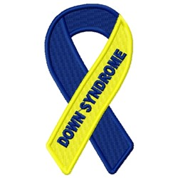 Downs Ribbon embroidery design