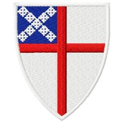 episcopal shield embroidery design