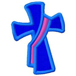 Deacons Cross embroidery design