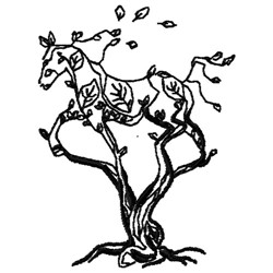 Wildwood Farms Logo embroidery design
