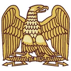 Eagle Rising embroidery design
