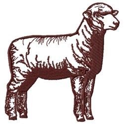 Corriedale Sheep embroidery design