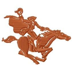 Headless Horseman embroidery design