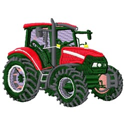 Case Tractor embroidery design