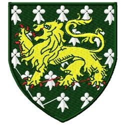 Var-Heim Heraldry embroidery design