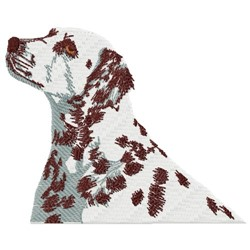 Spotted Dog embroidery design