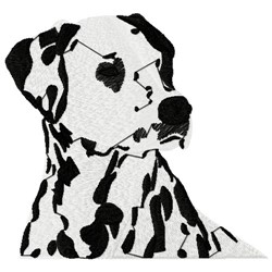 Dalmatian Dog embroidery design
