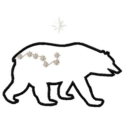 Ursa Major embroidery design
