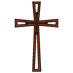 Cross Symbol embroidery design