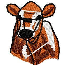 Jersey Calf embroidery design
