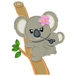Adorable Koalas embroidery design