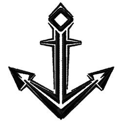 Nautical Cross Design embroidery design