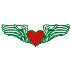 Field Wings embroidery design